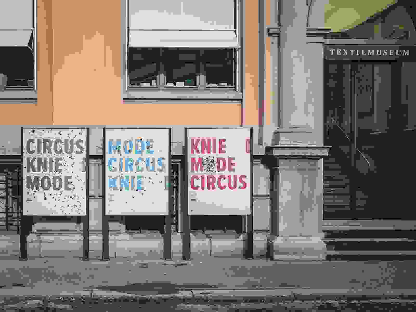 Plakate Mode Circus Knie