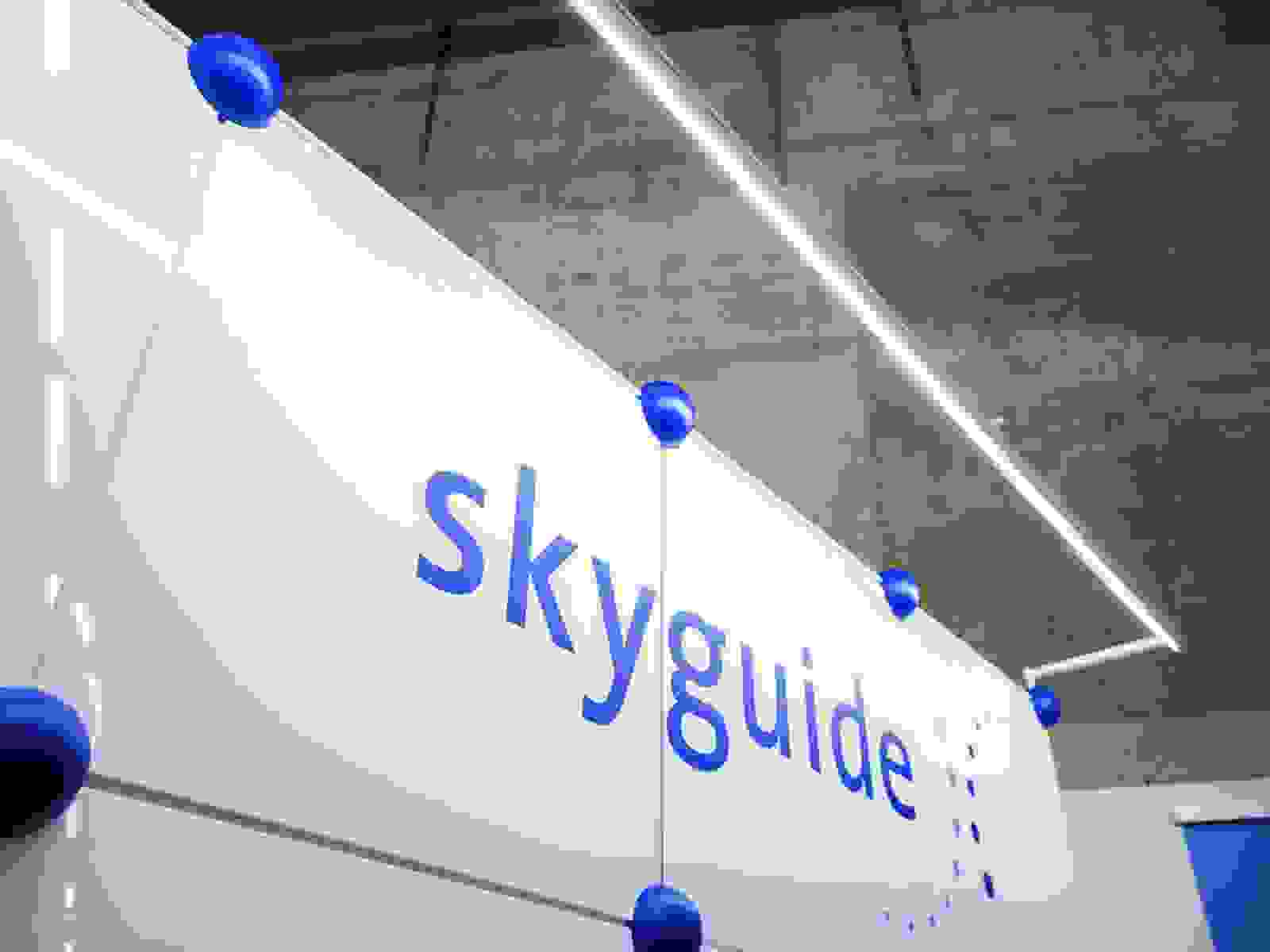 Messesystem Sysball bei Skyguide